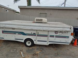 Jayco pop up camper 1994..needs work new cables needed. Wont raise up..$900 ..takes it for Sale in San Diego, CA