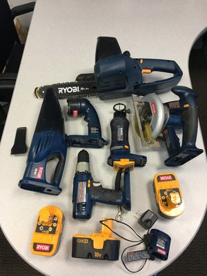 Roybi 18V NiCd Cordless 6-tool Art for Sale in San Diego, CA