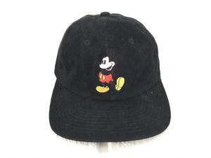 Vintage 90s Disney Goofys Hat Co Embroidered Mickey Mouse Hat Cap Black Gorra for Sale in Orange, CA