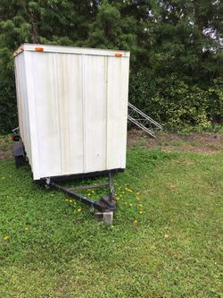 4x8 enclosed utility trailer for Sale in Bradley,  FL