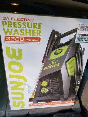 Sunjoe cold water pressure washer for Sale in Silver Spring, MD