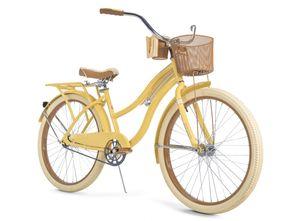 "Huffy Nel Lusso Classic Cruiser Bike Yellow 26"" for Sale in Orlando, FL"