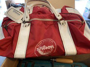 Wilson golf duffle bag Pebble Beach vintage for Sale in Kissimmee, FL