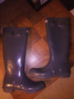 Hunter Rain Boots (full length) for Sale in Moreno Valley, CA