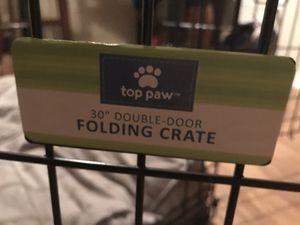 Folding Dog Crate for Sale in Austin, TX