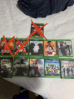 Xbox one games for Sale in Lakewood, WA