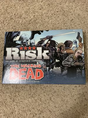 the walking dead risk: survival edition Board Game Complete for Sale in Gilbert, AZ