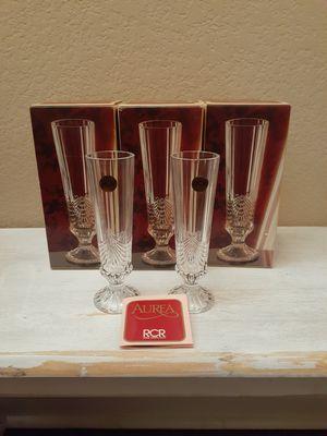 8 Piece Set - AUREA Royal Crystal Rock Vase for Sale in Watauga, TX