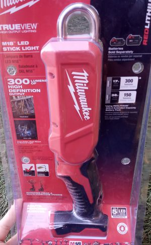 Milwaukee 18v Lithium Cordless Light for Sale in Gilroy, CA