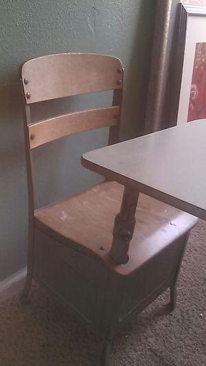 Antique school desk for Sale in Salt Lake City, UT