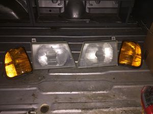 2004 to 2008 ford E250 cargo van headlights and signal lights for $60 for Sale in College Park, MD