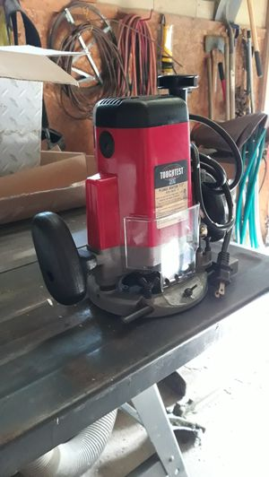 Router and snow blower for sale for Sale in Collins, NY