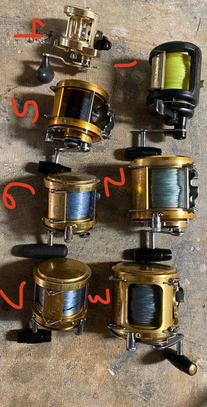 Shimano and Penn conventional fishing reels for Sale in Dania Beach, FL