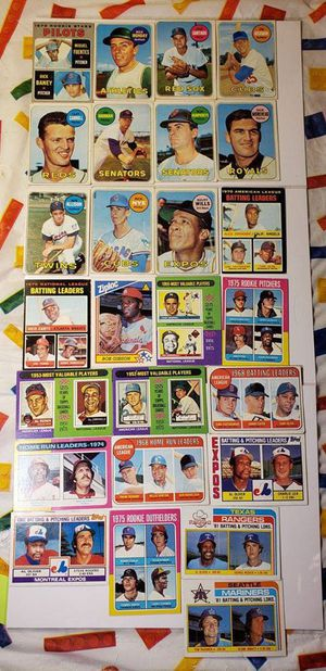 Vintage baseball- - 46 total for Sale in Lorain, OH