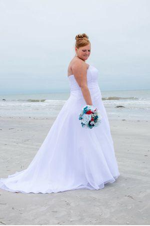 Size 18w (fits like 16) wedding dress for Sale in NEW PRT RCHY, FL