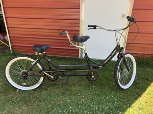 Nice folding tandem bike in great condition like new !! for Sale in Forest Grove, OR