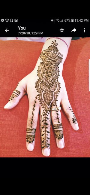 Tattoo with henna mehndi for Sale in Dulles, VA