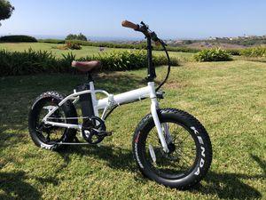 """Ebike electric bike folding $1600 bike """"Lowers"""" 48v 500w motor fat for Sale in San Clemente, CA"""