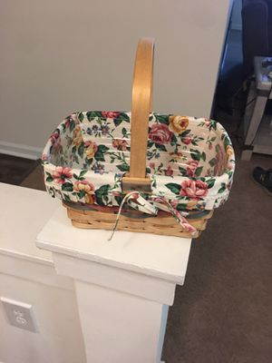 Longaberger Basket for Sale in Cary, NC
