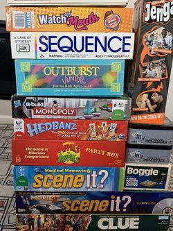 Board Games! for Sale in Hillsboro,  OR