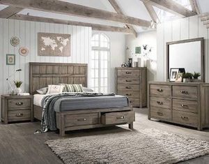 ARCADIA QUEEN BEDROOM SET INCLUDED Set Cama Queen, 1 Buro, Tocador c/ Espejo $1,099 Set Cama King, 1 Buro, Tocador c/ Espejo $1,299 Mattress sold for Sale in Chino, CA