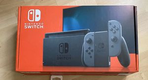 NINTENDO SWITCH GREY CONSOLE 32GB V2 GREY JOY CON for Sale in Downers Grove, IL