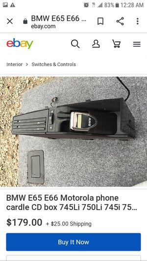 """BMW CAR PHONE CD BOX"" for Sale in El Monte, CA"