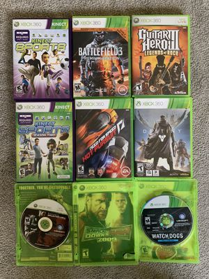 Xbox 360 games for Sale in Bellevue, WA