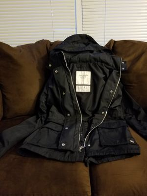 Women Black parka jacket from Abercrombie &Fitch for Sale for sale  Rochester, NY