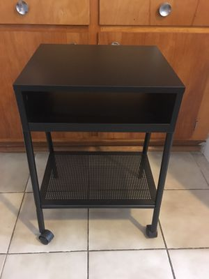 Like new black nightstand / side table for Sale in New York, NY