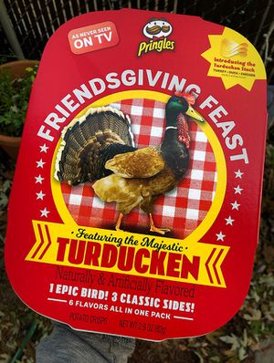 Pringles Turducken Thanksgiving Limited Edition for Sale in Stoughton, MA