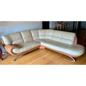 Future Line Italia Premium Quality Leather Sofa for Sale in Des Plaines, IL