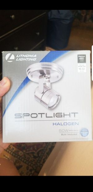 Brushed nickel light fixture - still in box, never used for Sale in Scottsdale, AZ