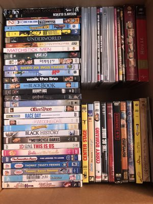 50 DVDs Movies for Sale in Denver, CO