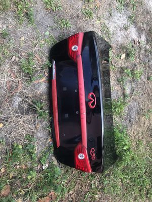 Q50 Trunk and tail lights for Sale in Carol City, FL