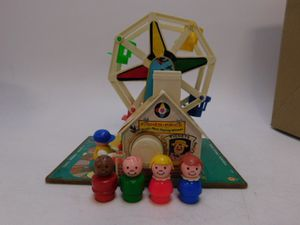 Vintage Fisher Price Little People Ferris Wheel for Sale in Annandale, VA