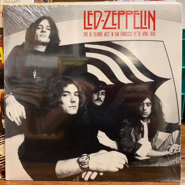 Led Zeppelin Japanese Import - Virgin Vinyl Record - Sealed!