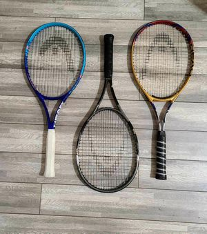 HEAD Tennis Rackets (29 each) for Sale in Denver, CO
