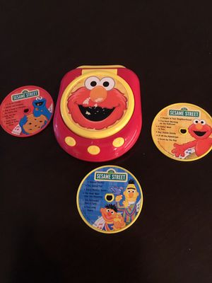 Sesame Street player with three cds for Sale in Flower Mound, TX