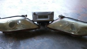 Headlights and radio for Sale in Tampa, FL