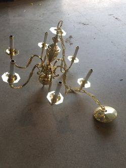 Golden Chandelier for Sale in Vancouver,  WA