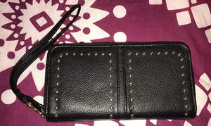 Black Gold Studded Wallet for Sale in West Springfield, VA