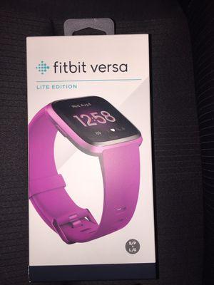 Fitbit Versa Lite Edition for Sale in Waterbury, CT
