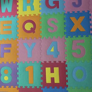 36 Alphabet and Number 12inch Foam Tiles- Scripps Ranch Area for Sale in San Diego, CA
