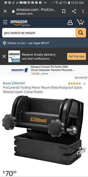 Pro control Ez mount for Sale in Las Vegas, NV