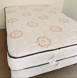 NEW FULL MATTRESS AND BOX SPRING. Bed frame is not included for Sale in West Palm Beach, FL