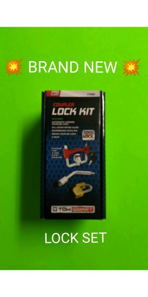 BRAND NEW TRAILER LOCK SET FOR SALE / SELLS FAST FOR $20 / / 💥PRICE IS FIRM💥 for Sale in Albuquerque, NM
