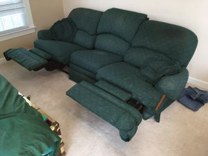 FREE Broyhill sofa with two recliners built in!!!!! for Sale in Cary, NC
