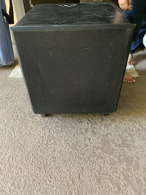 """DCM SUB WOOFER 12inch plus a 7"""" in the front $$ for Sale in Riverside, CA"""