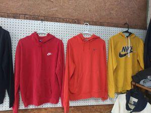 Nike hooded sweatshirt shirts and Adidas jogging suit puma jacket for Sale in Atlanta, GA